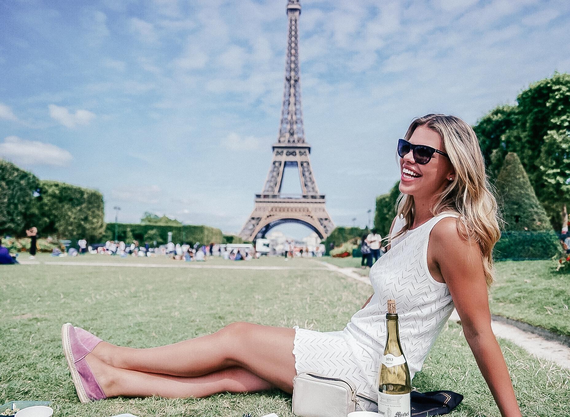 picnic in Paris France