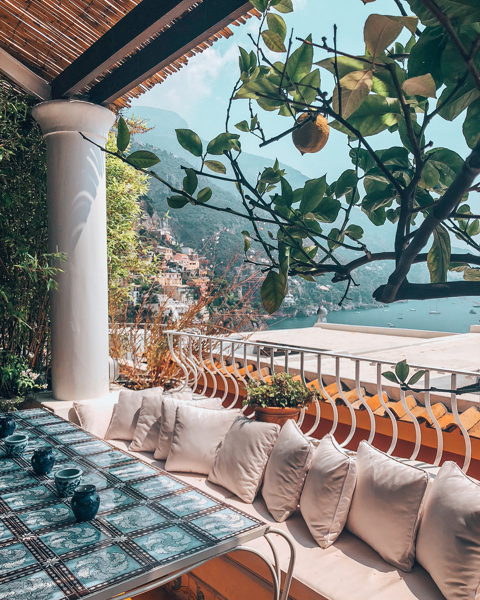 luxury villa in Positano