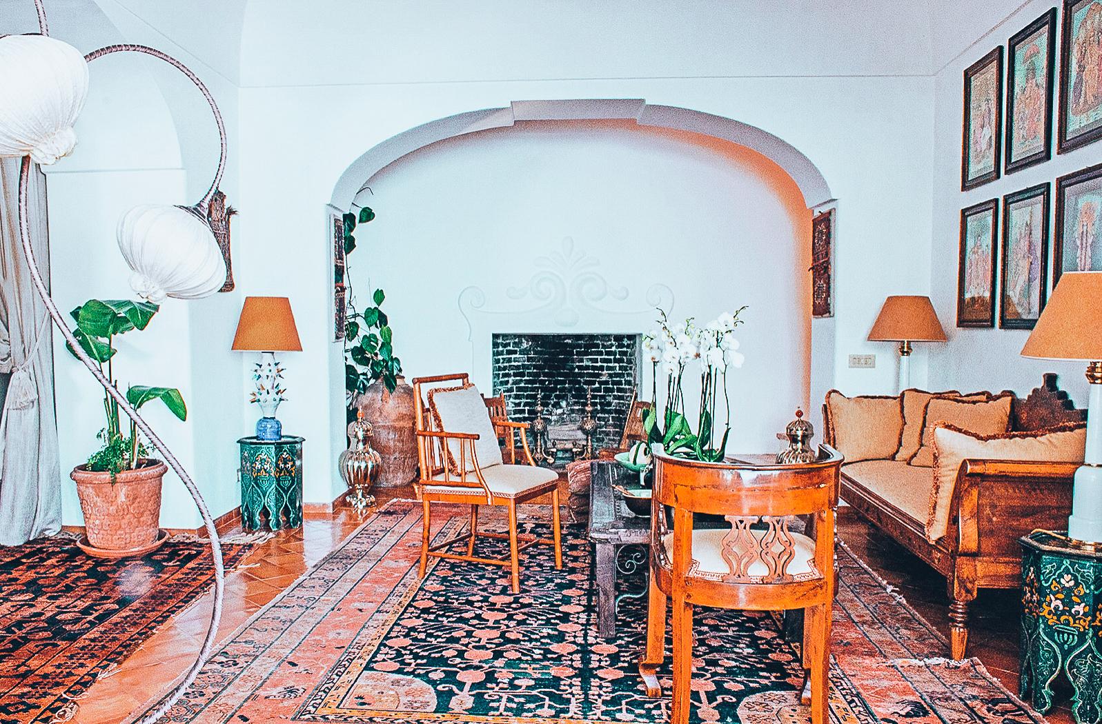 luxury villa in Positano Italy