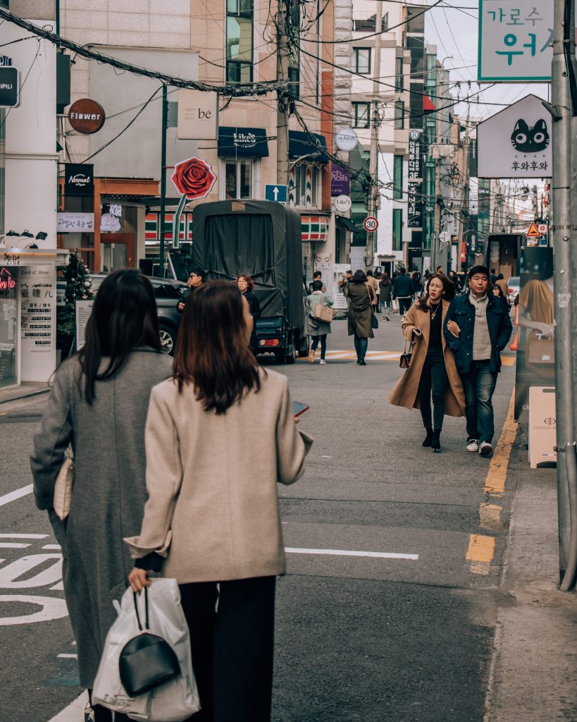 Seoul South Korea shopping