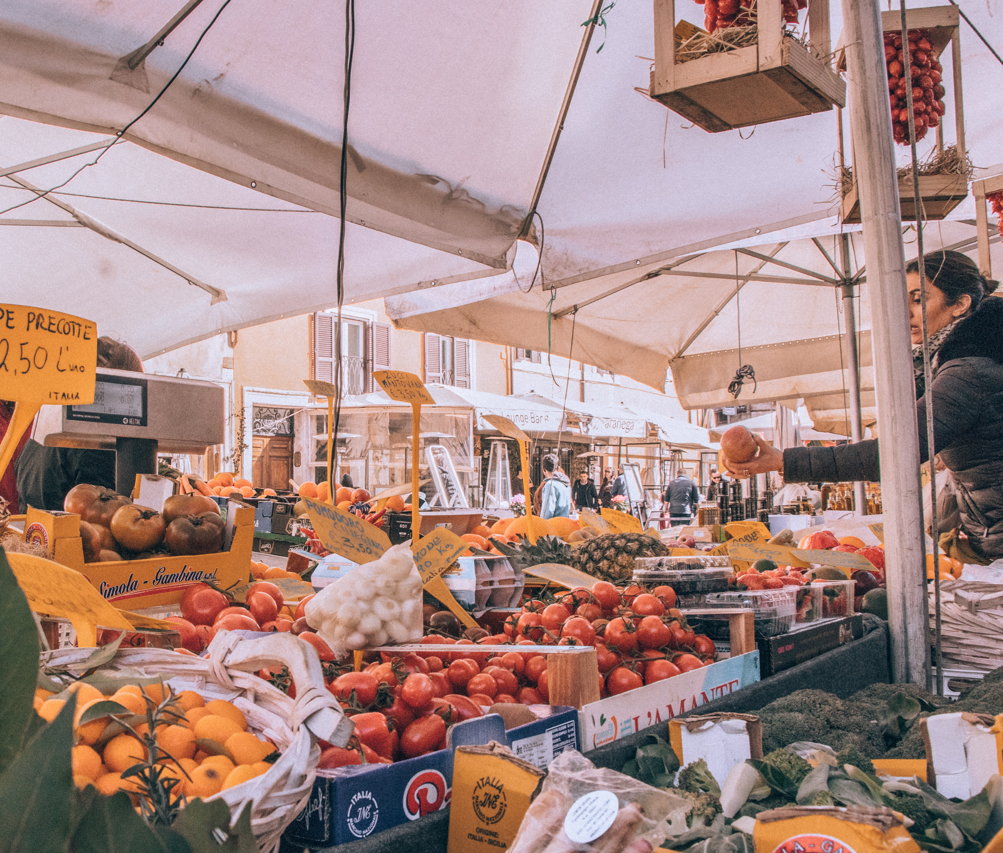 eating seasonal in Italy