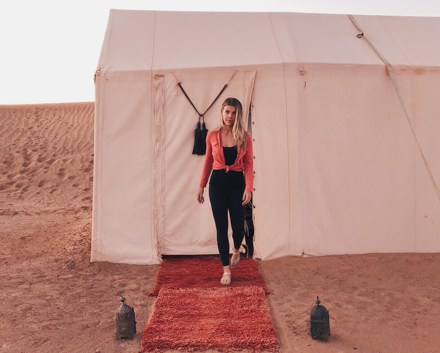 Glamping in Morocco Sahara Desert