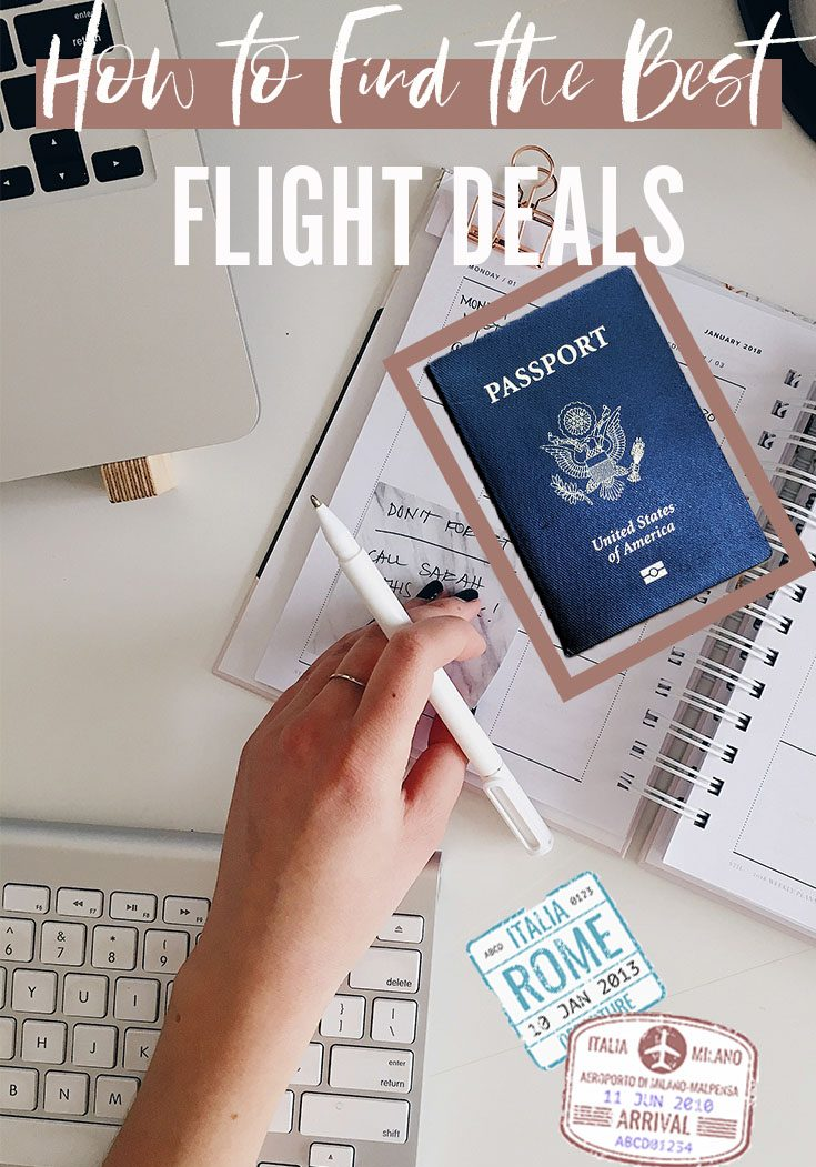 finding best flight deals