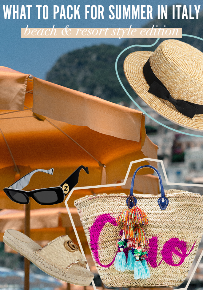 Italy Packing Guide - Beach