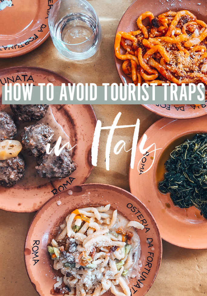 how to avoid tourist traps in Italy